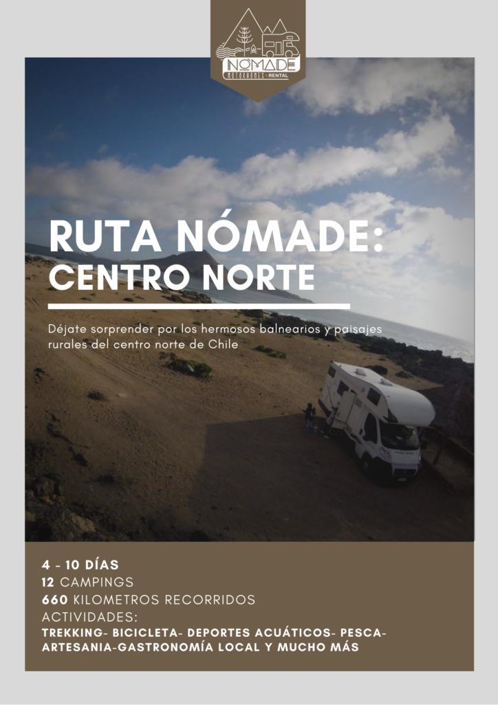 rutas nomade centro norte